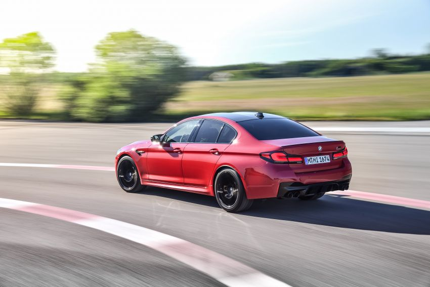 F90 BMW M5 facelift revealed – revised styling and dynamics; 4.4L twin-turbo V8; up to 625 PS, 750 Nm Image #1131600