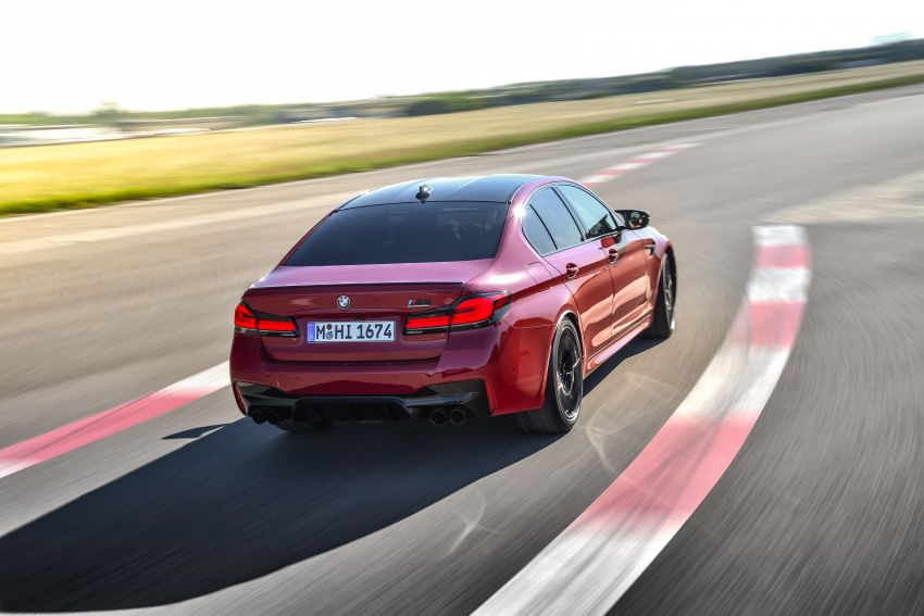 F90 BMW M5 facelift revealed – revised styling and dynamics; 4.4L twin-turbo V8; up to 625 PS, 750 Nm Image #1131601