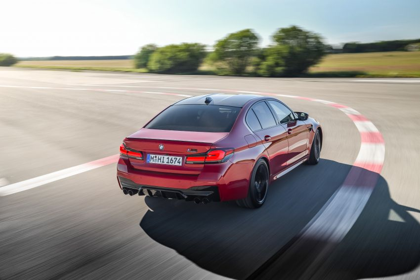 F90 BMW M5 facelift revealed – revised styling and dynamics; 4.4L twin-turbo V8; up to 625 PS, 750 Nm Image #1131602