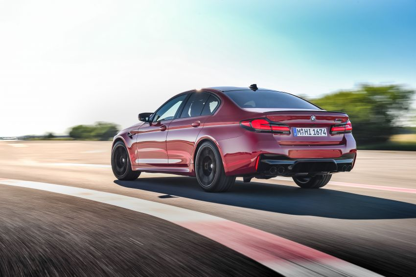 F90 BMW M5 facelift revealed – revised styling and dynamics; 4.4L twin-turbo V8; up to 625 PS, 750 Nm Image #1131603