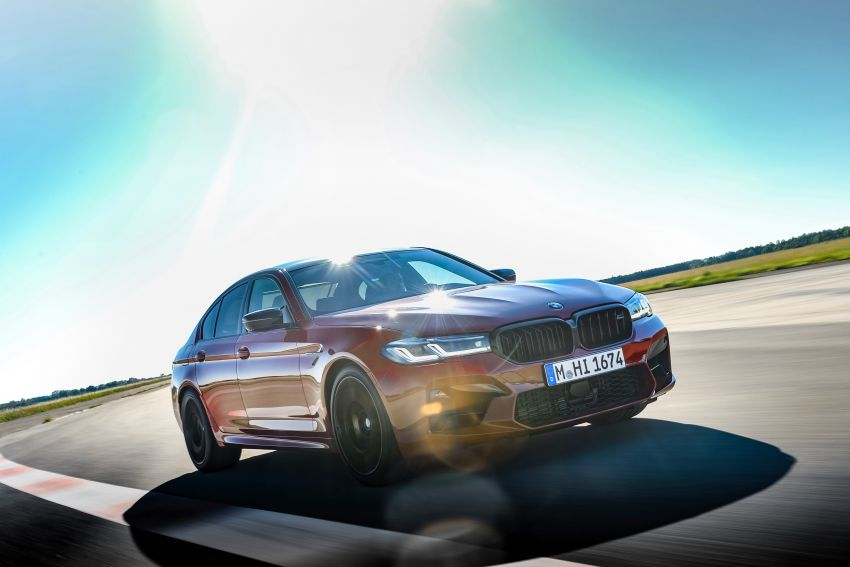 F90 BMW M5 facelift revealed – revised styling and dynamics; 4.4L twin-turbo V8; up to 625 PS, 750 Nm Image #1131604