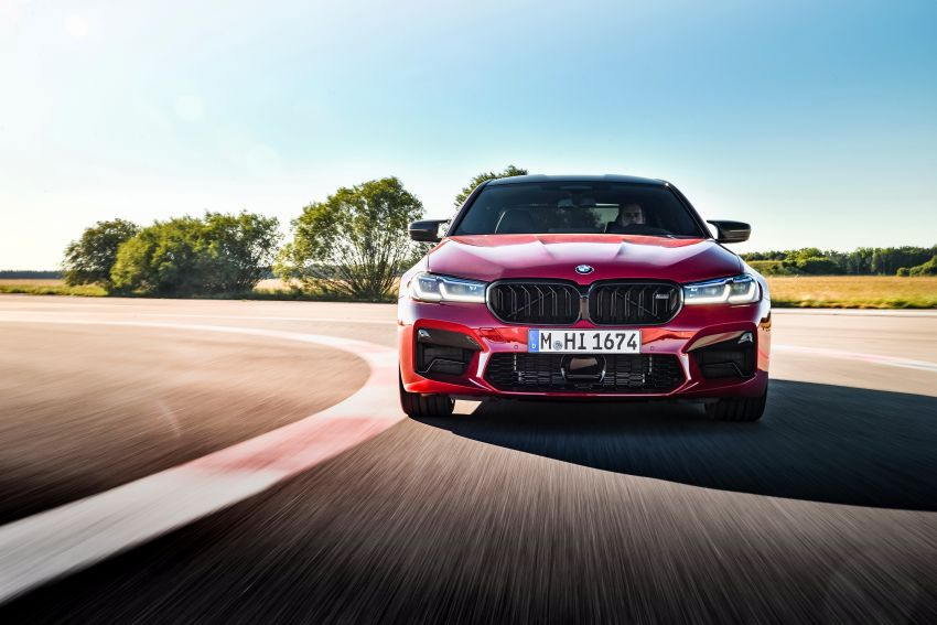 F90 BMW M5 facelift revealed – revised styling and dynamics; 4.4L twin-turbo V8; up to 625 PS, 750 Nm Image #1131605