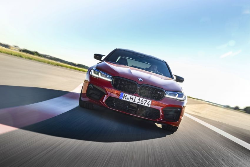 F90 BMW M5 facelift revealed – revised styling and dynamics; 4.4L twin-turbo V8; up to 625 PS, 750 Nm Image #1131606