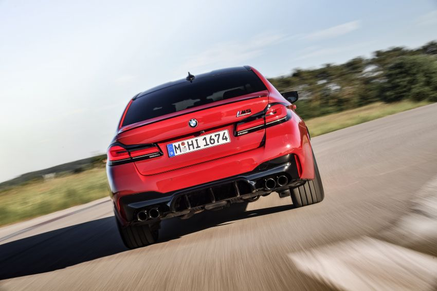 F90 BMW M5 facelift revealed – revised styling and dynamics; 4.4L twin-turbo V8; up to 625 PS, 750 Nm Image #1131608
