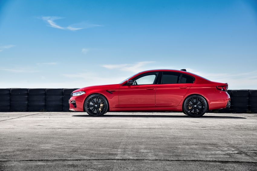 F90 BMW M5 facelift revealed – revised styling and dynamics; 4.4L twin-turbo V8; up to 625 PS, 750 Nm Image #1131609
