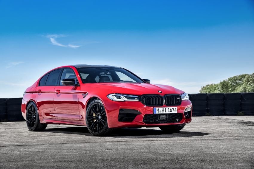 F90 BMW M5 facelift revealed – revised styling and dynamics; 4.4L twin-turbo V8; up to 625 PS, 750 Nm Image #1131611