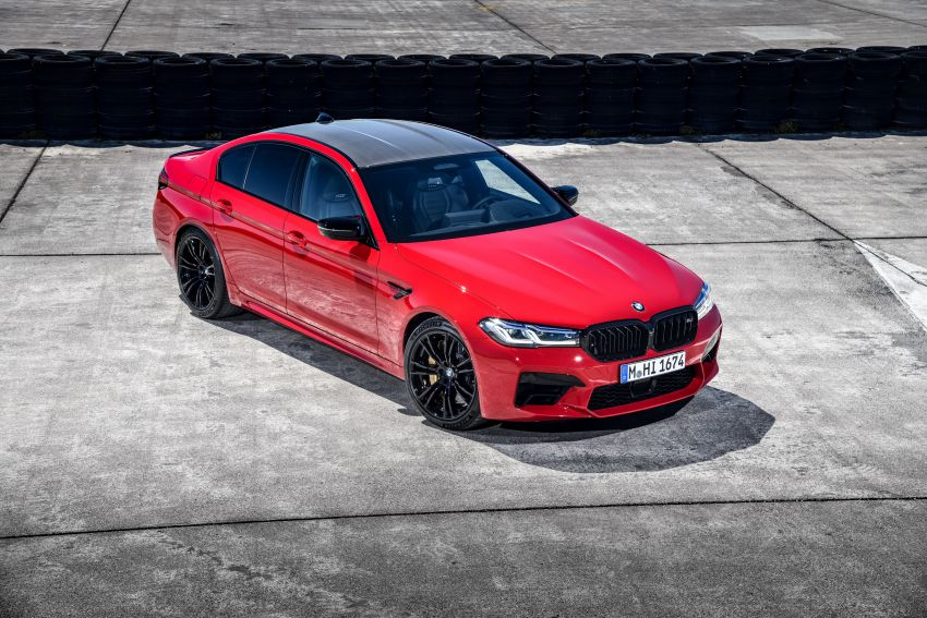 F90 BMW M5 facelift revealed – revised styling and dynamics; 4.4L twin-turbo V8; up to 625 PS, 750 Nm Image #1131613