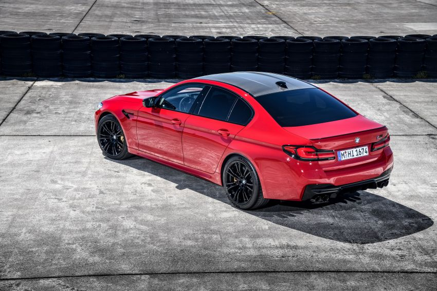 F90 BMW M5 facelift revealed – revised styling and dynamics; 4.4L twin-turbo V8; up to 625 PS, 750 Nm Image #1131614