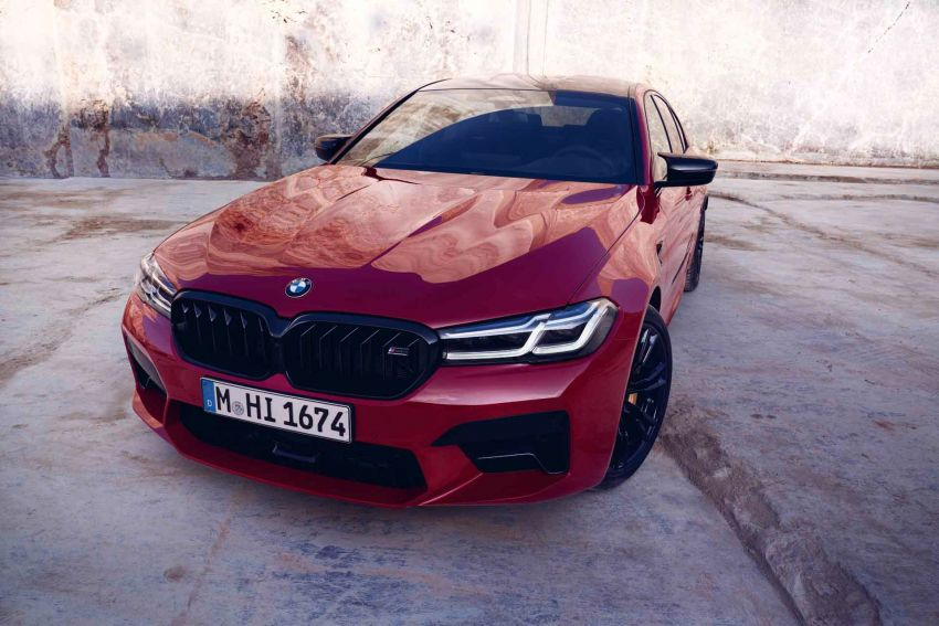 F90 BMW M5 facelift revealed – revised styling and dynamics; 4.4L twin-turbo V8; up to 625 PS, 750 Nm Image #1131543