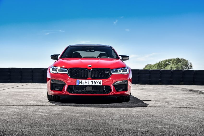 F90 BMW M5 facelift revealed – revised styling and dynamics; 4.4L twin-turbo V8; up to 625 PS, 750 Nm Image #1131617