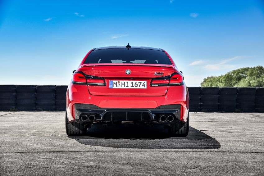 F90 BMW M5 facelift revealed – revised styling and dynamics; 4.4L twin-turbo V8; up to 625 PS, 750 Nm Image #1131618