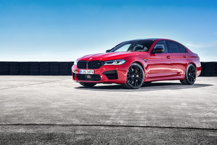 F90 BMW M5 facelift revealed – revised styling and dynamics; 4.4L twin-turbo V8; up to 625 PS, 750 Nm Image #1131620
