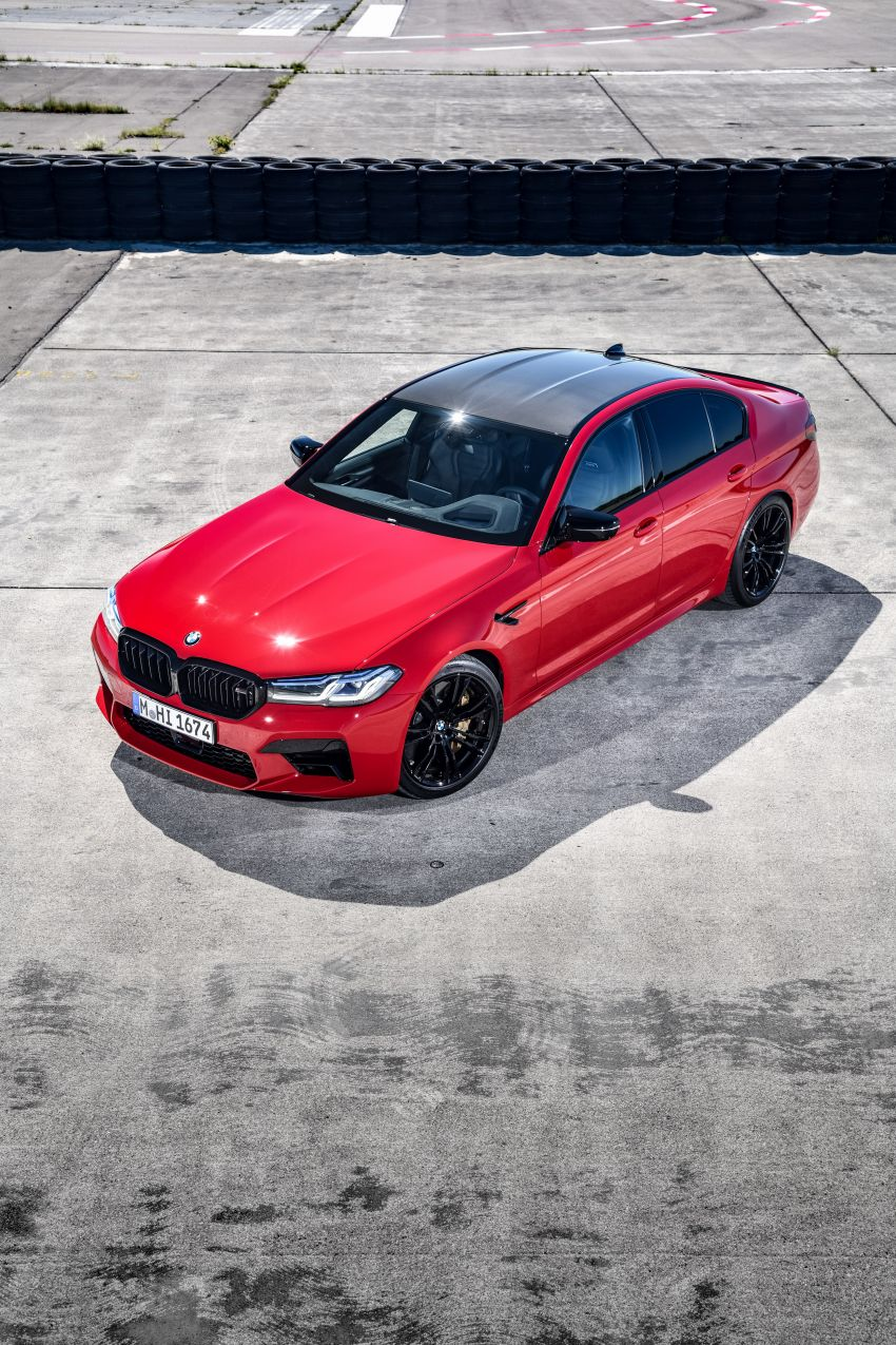 F90 BMW M5 facelift revealed – revised styling and dynamics; 4.4L twin-turbo V8; up to 625 PS, 750 Nm Image #1131623