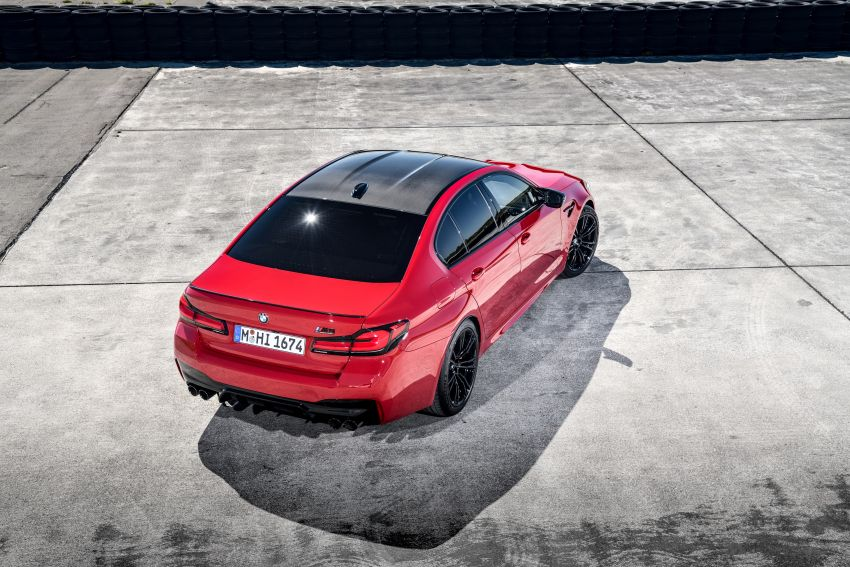 F90 BMW M5 facelift revealed – revised styling and dynamics; 4.4L twin-turbo V8; up to 625 PS, 750 Nm Image #1131624