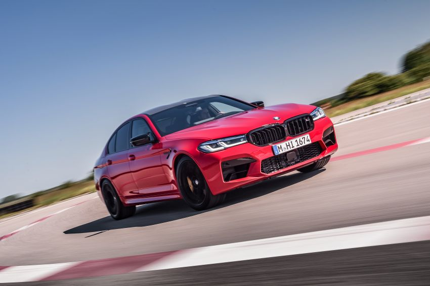 F90 BMW M5 facelift revealed – revised styling and dynamics; 4.4L twin-turbo V8; up to 625 PS, 750 Nm Image #1131625