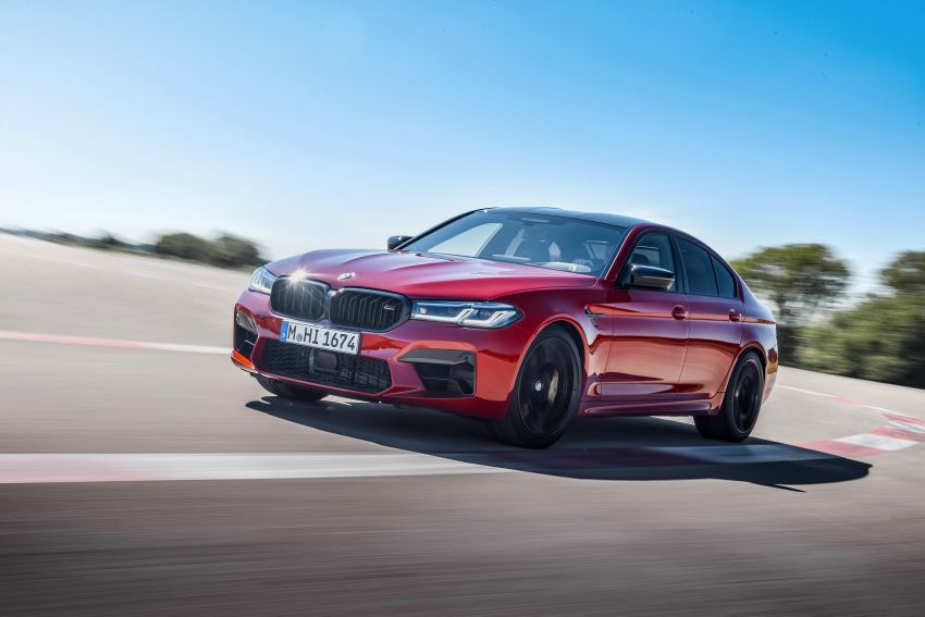 F90 BMW M5 facelift revealed – revised styling and dynamics; 4.4L twin-turbo V8; up to 625 PS, 750 Nm Image #1131627