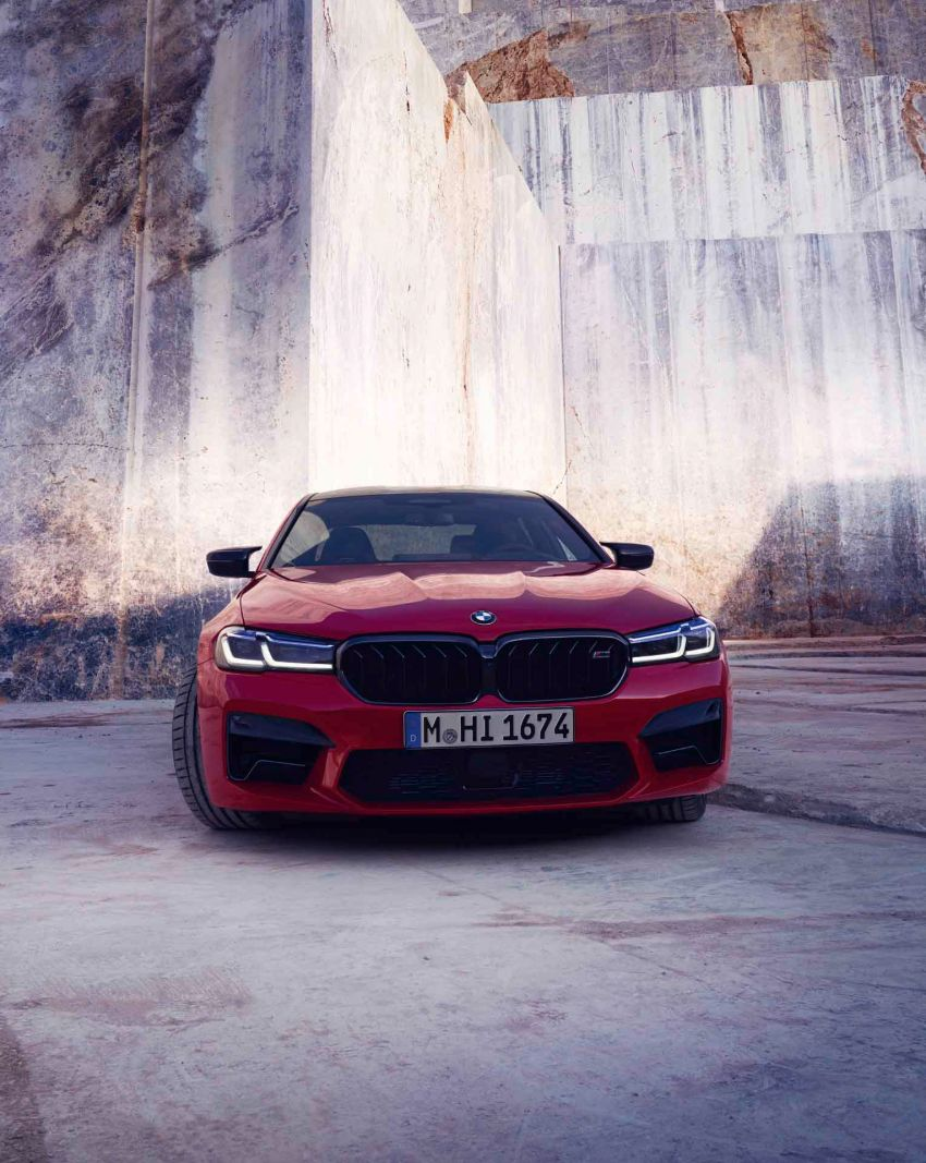F90 BMW M5 facelift revealed – revised styling and dynamics; 4.4L twin-turbo V8; up to 625 PS, 750 Nm Image #1131544