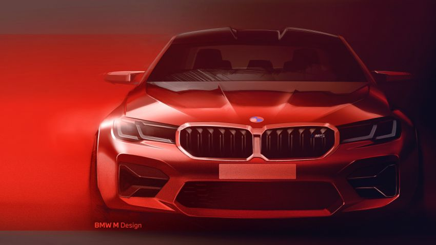 F90 BMW M5 facelift revealed – revised styling and dynamics; 4.4L twin-turbo V8; up to 625 PS, 750 Nm Image #1131634