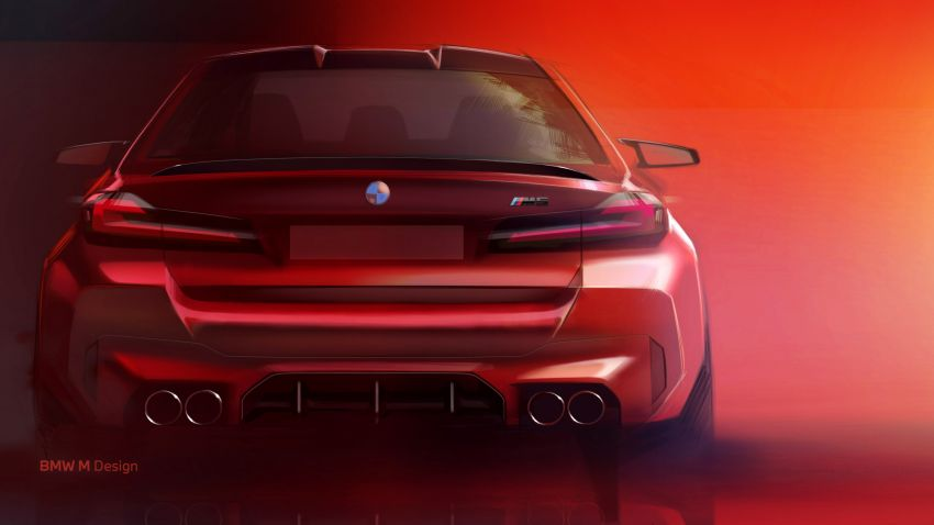 F90 BMW M5 facelift revealed – revised styling and dynamics; 4.4L twin-turbo V8; up to 625 PS, 750 Nm Image #1131635