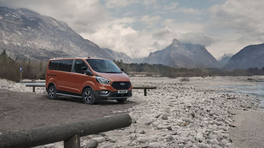 Ford Transit gains Trail, Active variants – added off-road ruggedness for the Euro-market van range Image #1131250