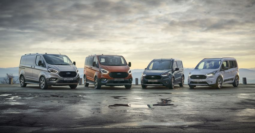 Ford Transit gains Trail, Active variants – added off-road ruggedness for the Euro-market van range Image #1131253