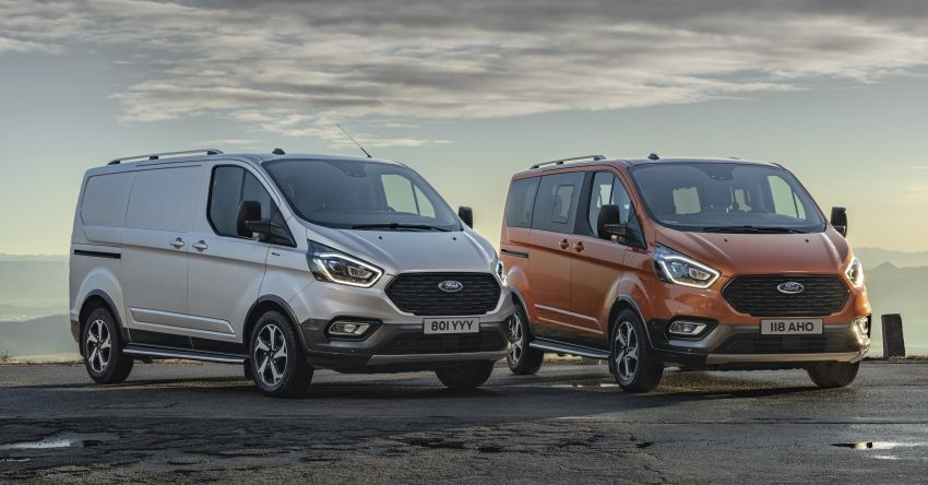 Ford Transit gains Trail, Active variants – added off-road ruggedness for the Euro-market van range Image #1131252