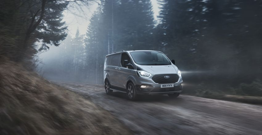 Ford Transit gains Trail, Active variants – added off-road ruggedness for the Euro-market van range Image #1131255