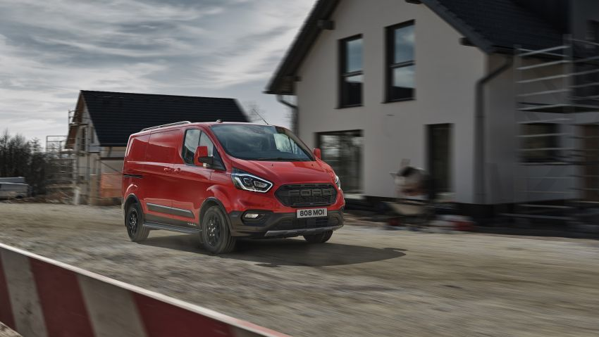 Ford Transit gains Trail, Active variants – added off-road ruggedness for the Euro-market van range Image #1131251