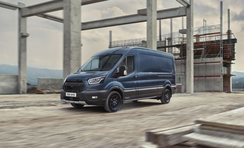 Ford Transit gains Trail, Active variants – added off-road ruggedness for the Euro-market van range Image #1131256