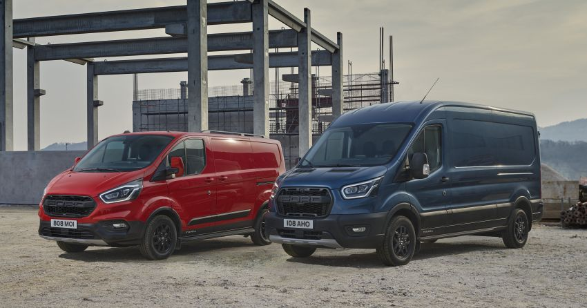 Ford Transit gains Trail, Active variants – added off-road ruggedness for the Euro-market van range Image #1131254