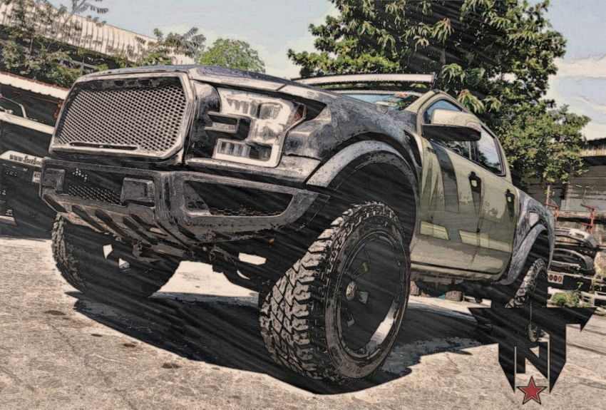 TTN Hypersport converts a Ford Ranger to the F-150! Image #1124681