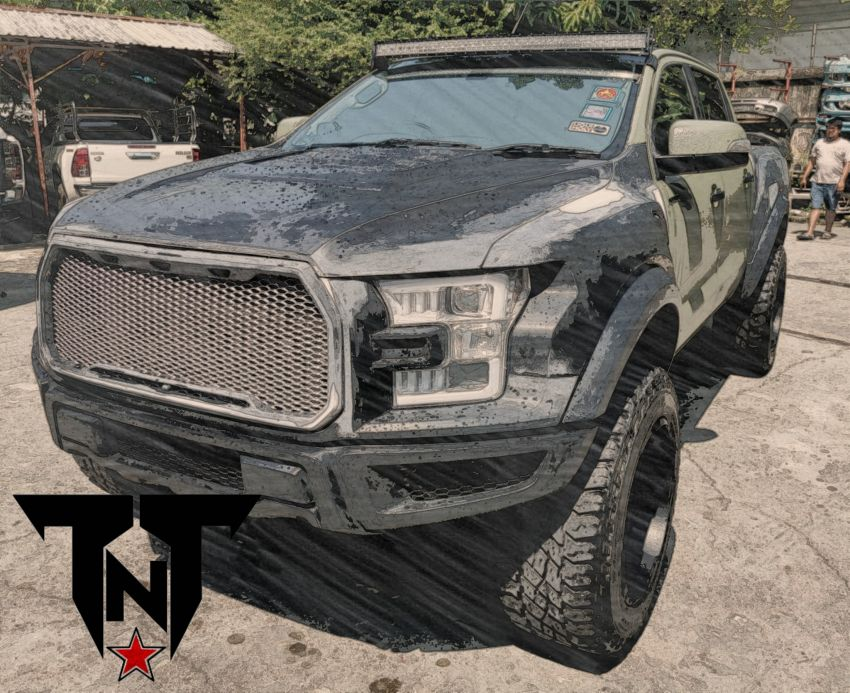 TTN Hypersport converts a Ford Ranger to the F-150! Image #1124682
