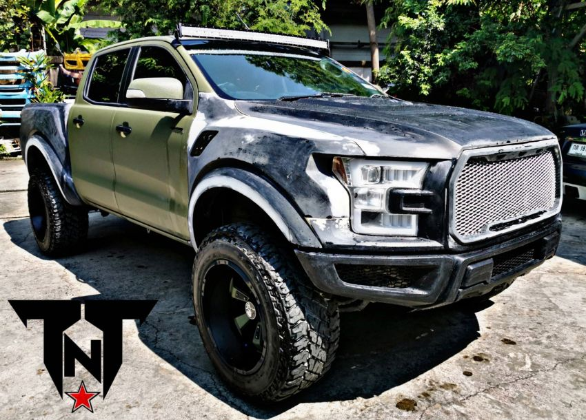 TTN Hypersport converts a Ford Ranger to the F-150! Image #1124689