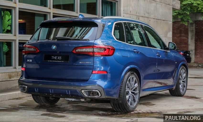 2020 BMW X5 xDrive45e PHEV launched – 3.0L turbo, 394 PS, 77 km electric range, RM441k without SST Image #1130936