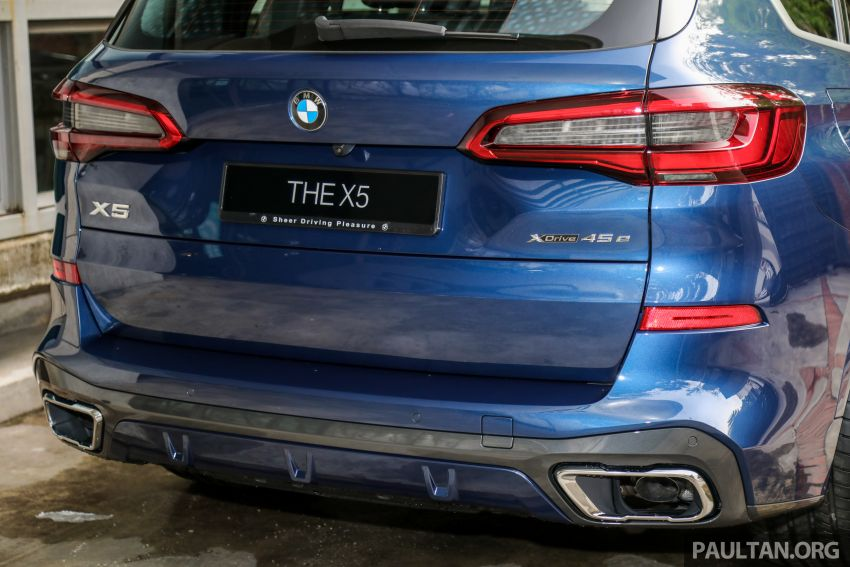 2020 BMW X5 xDrive45e PHEV launched – 3.0L turbo, 394 PS, 77 km electric range, RM441k without SST Image #1130959