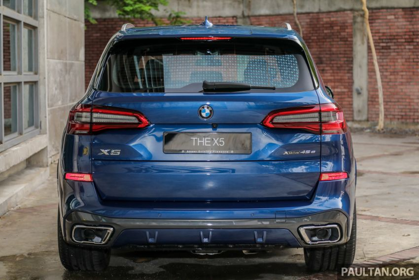 2020 BMW X5 xDrive45e PHEV launched – 3.0L turbo, 394 PS, 77 km electric range, RM441k without SST Image #1130939