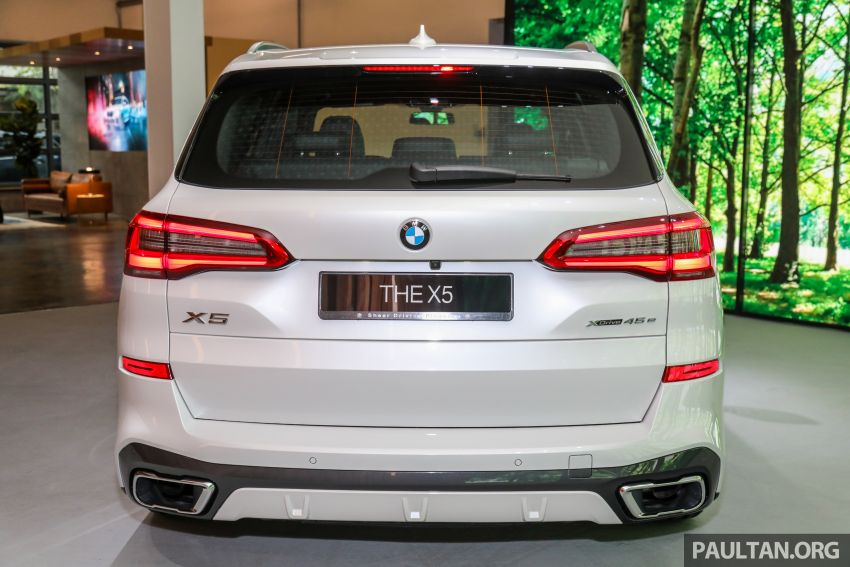2020 BMW X5 xDrive45e PHEV launched – 3.0L turbo, 394 PS, 77 km electric range, RM441k without SST Image #1131056