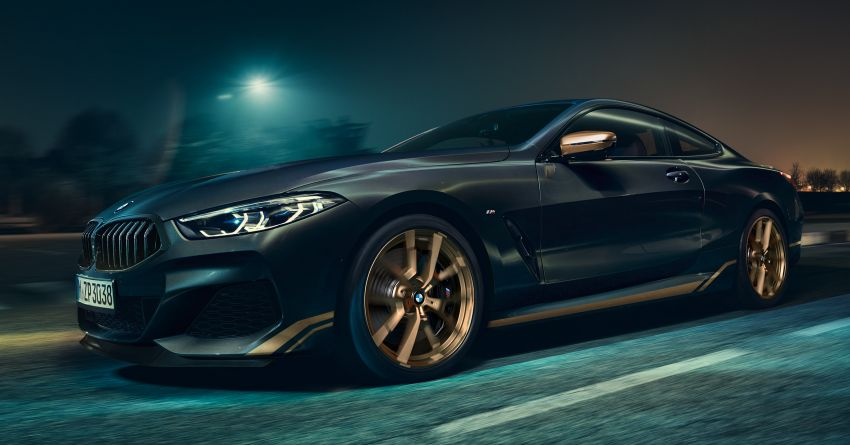 BMW 8 Series Golden Thunder Edition makes its debut Image #1133488