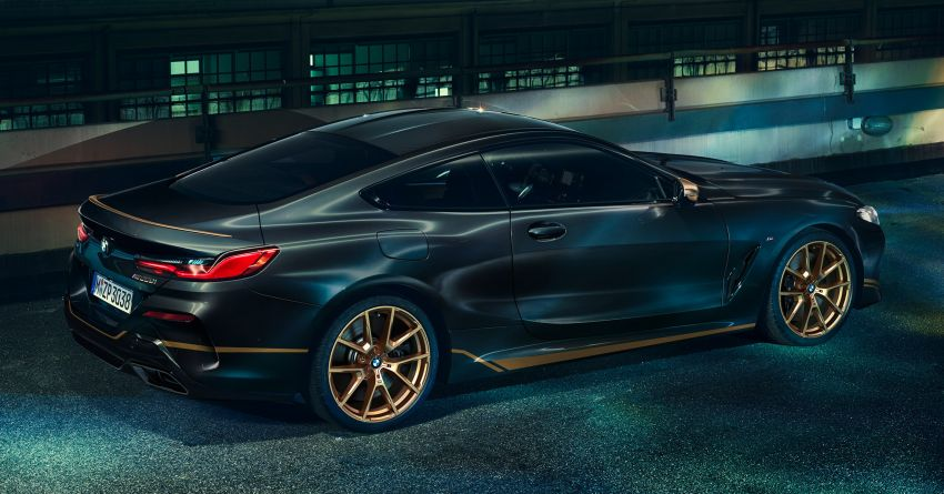 BMW 8 Series Golden Thunder Edition makes its debut Image #1133489