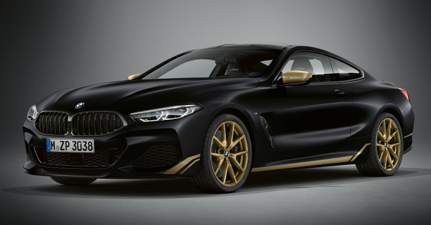 BMW 8 Series Golden Thunder Edition makes its debut Image #1133490