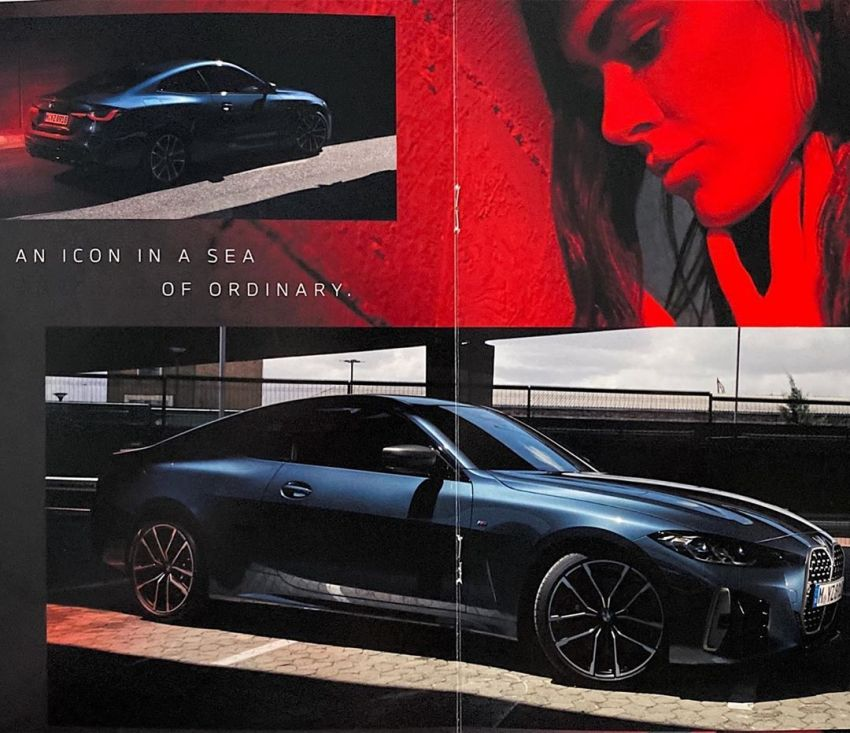 G22 BMW 4 Series gets revealed in leaked brochures Image #1123952