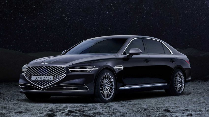 2021 Genesis G90 flagship sedan gets more kit, and 50-unit limited edition Stardust edition for Korea Image #1138448