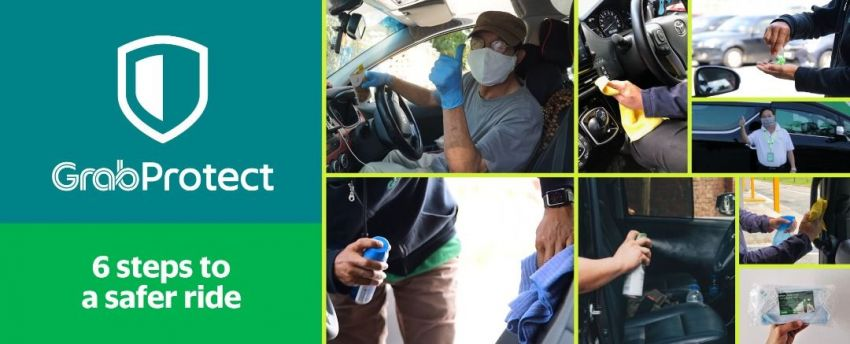 Face mask, in-app health and hygiene declaration now a must for both Grab drivers and passengers Image #1129073