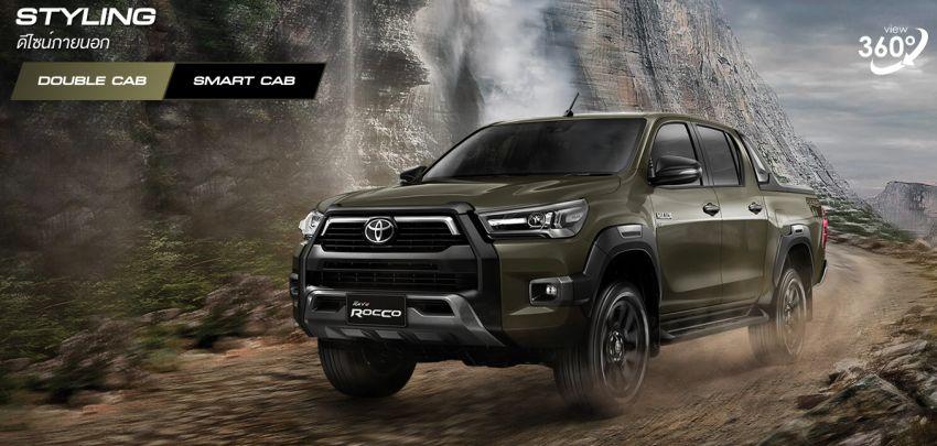 Toyota Hilux facelift didedahkan – rupa lebih garang, model 2.8L turbodiesel terima kuasa 204 hp/500 Nm Image #1126528