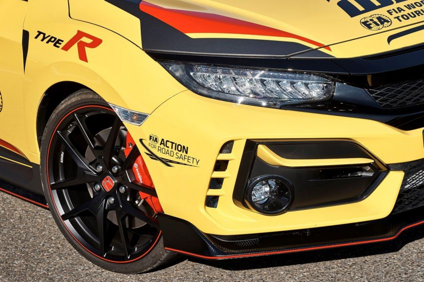 Honda Civic Type R Limited Edition becomes the official safety car for the 2020 WTCR championship Image #1138587
