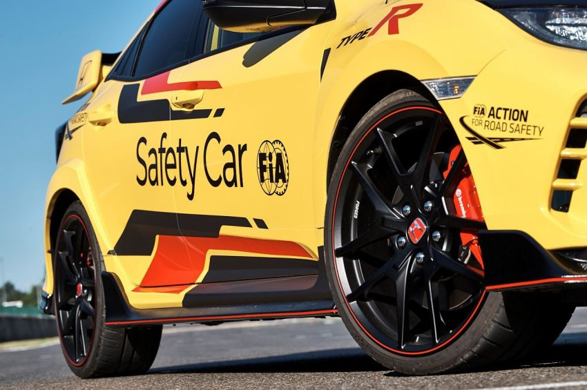 Honda Civic Type R Limited Edition becomes the official safety car for the 2020 WTCR championship Image #1138588
