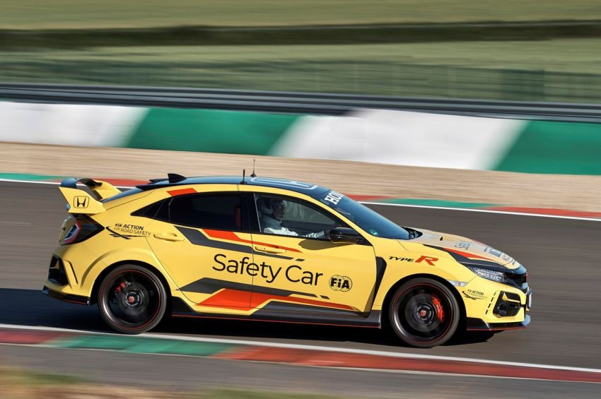 Honda Civic Type R Limited Edition becomes the official safety car for the 2020 WTCR championship Image #1138589