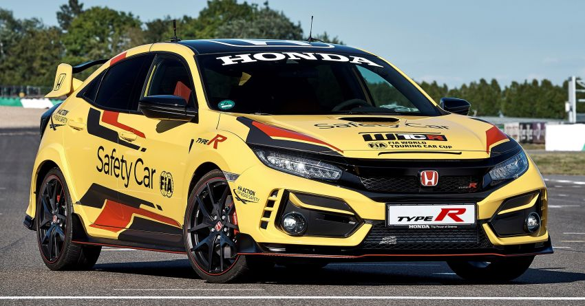 Honda Civic Type R Limited Edition becomes the official safety car for the 2020 WTCR championship Image #1138590