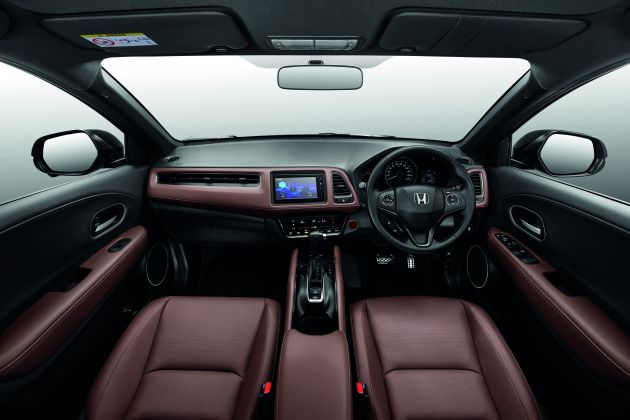 Honda Hr V Rs Now Available With Dark Brown Leather Interior In Malaysia No Price Change From Rm125k Paultan Org