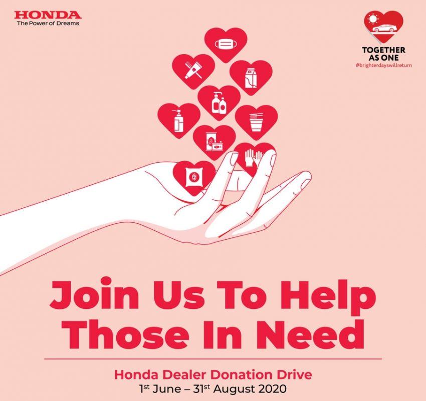 Honda Malaysia lancar dua kempen bantuan kemasyarakatan bagi yang terjejas akibat COVID-19 Image #1126862
